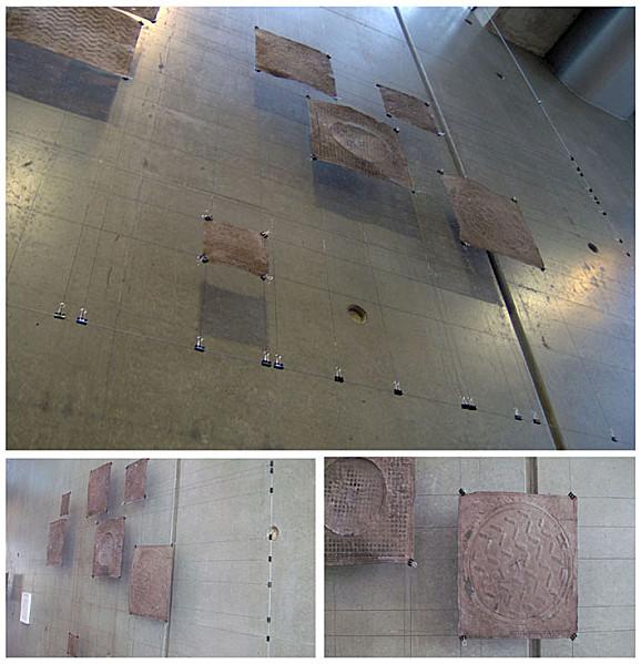 Instalation de peaux urbaine